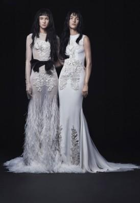 Vera Wang_FW16 Bridal_Look 1 & 8