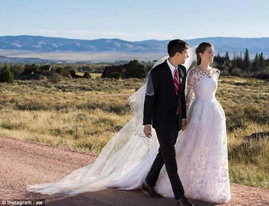 Allison Williams and Ricky Van Veen Wedding