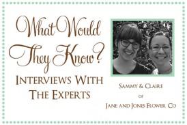 Jane and Jones Flower Co
