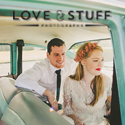 Love and Stuff Photography Bride banner