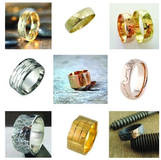 Textured-Wedding-Rings