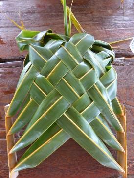 Atituaki Plate Weaving