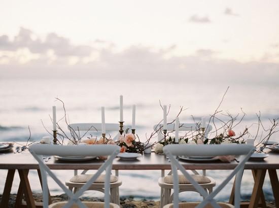 Beach Wedding Tablescape007