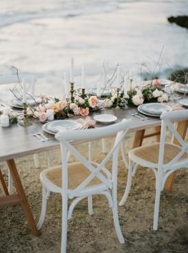 Beach Wedding Tablescape011