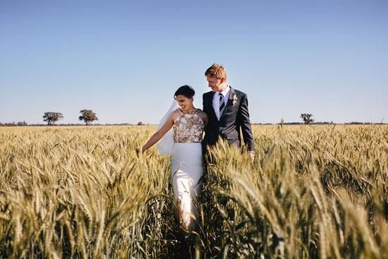 Country garden wedding052
