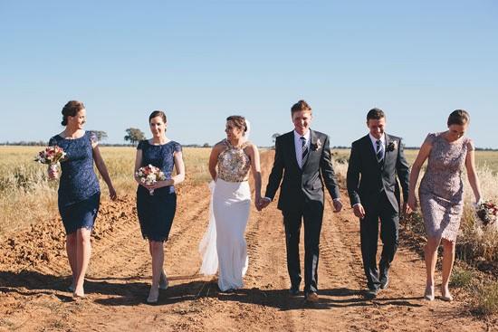Country garden wedding060