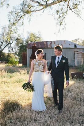 Country garden wedding080