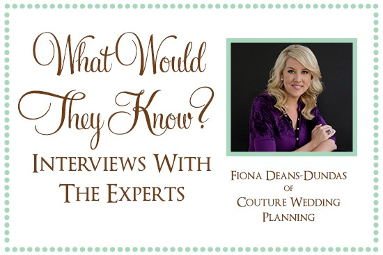 Fiona of Couture Wedding Planning