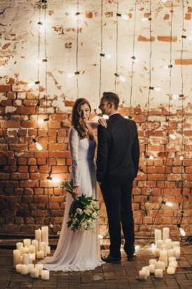 Industrial Candlelit Wedding Inspiration002