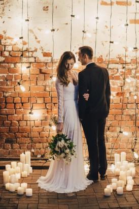 Industrial Candlelit Wedding Inspiration005