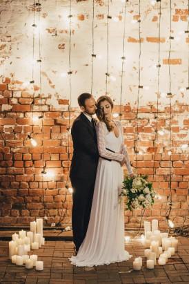 Industrial Candlelit Wedding Inspiration014