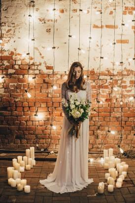 Industrial Candlelit Wedding Inspiration021