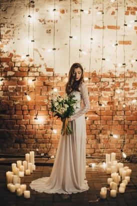 Industrial Candlelit Wedding Inspiration024