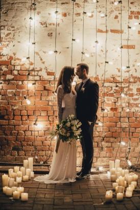Industrial Candlelit Wedding Inspiration034