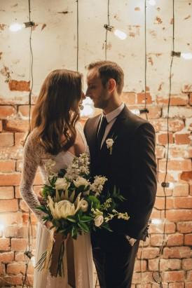 Industrial Candlelit Wedding Inspiration035
