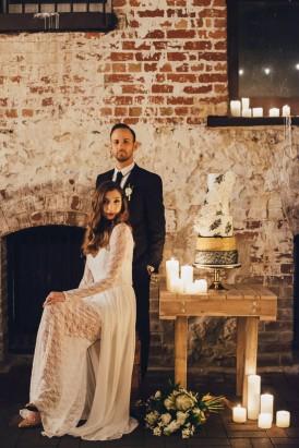 Industrial Candlelit Wedding Inspiration048