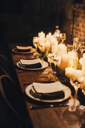 Industrial Candlelit Wedding Inspiration056