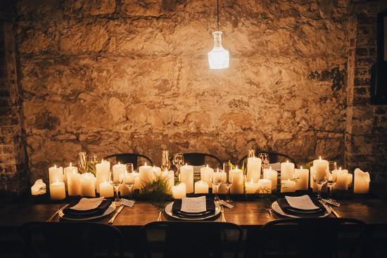 Industrial Candlelit Wedding Inspiration059