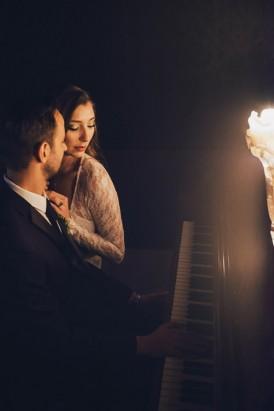 Industrial Candlelit Wedding Inspiration071