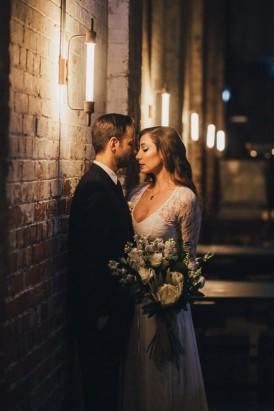 Industrial Candlelit Wedding Inspiration079