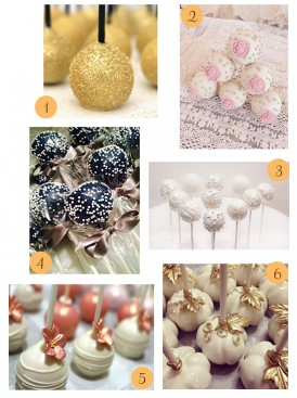 Wedding Favors - Cake Pops
