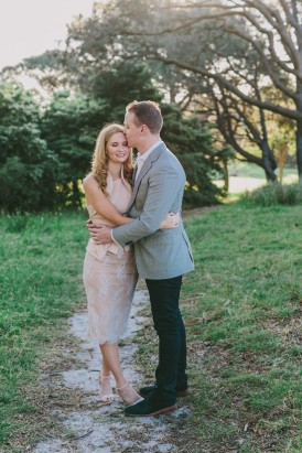 Chic Country Engagement008