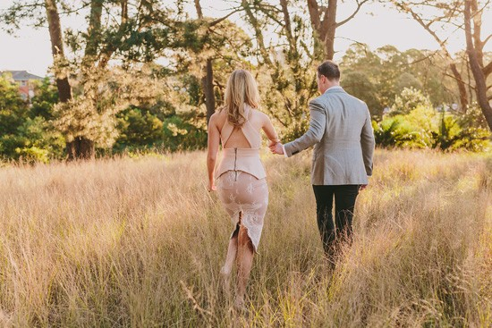 Chic Country Engagement035