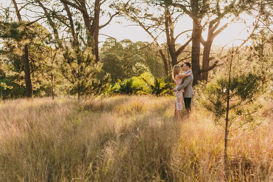 Chic Country Engagement036