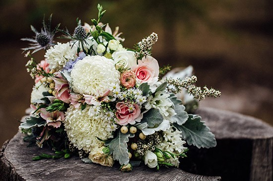 Chic Rustique Wedding Styling Bouquet
