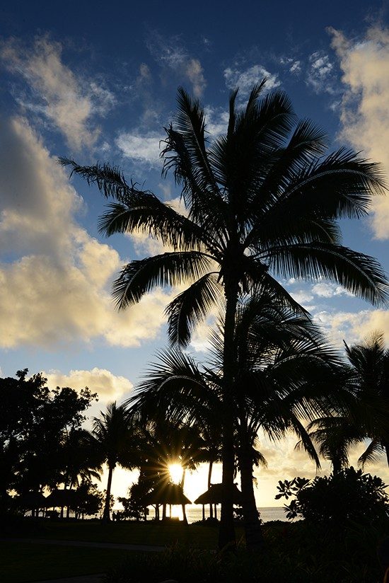 Fiji Sunset Photo