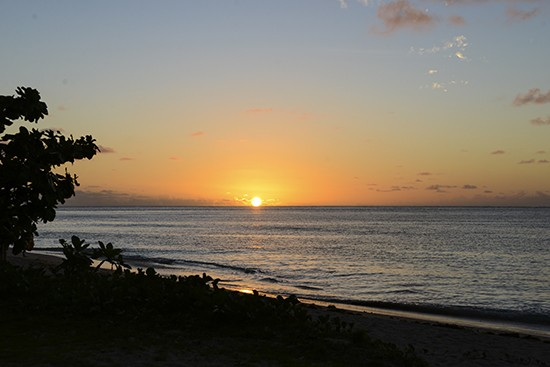 Intercontinental Fiji Epic Sunset