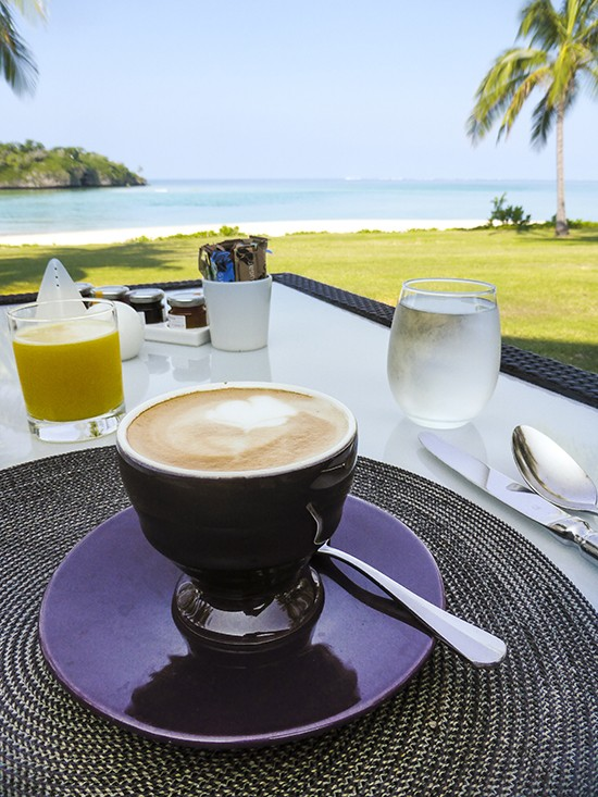 Intercontinental Fiji Navo Breakfast
