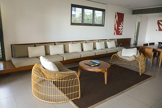 Intercontinental Fiji Slub Level Villa Living Room