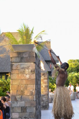 Lighting The Fire at Intercontinental Fiji