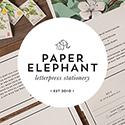 Paper Elephant Bride banner