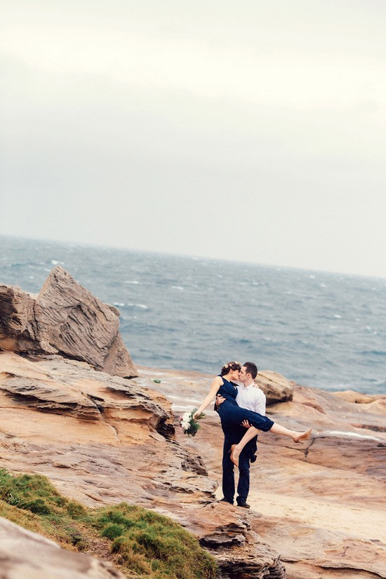 Romantic Clifftop Engagement Photos023