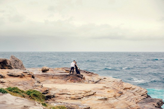 Romantic Clifftop Engagement Photos025