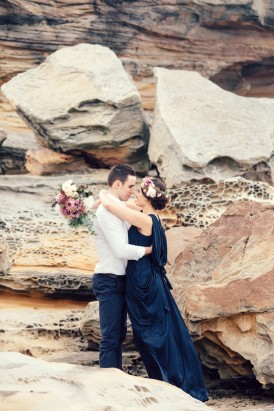 Romantic Clifftop Engagement Photos027