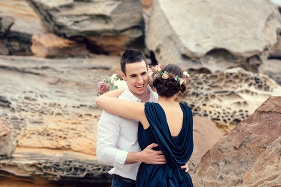 Romantic Clifftop Engagement Photos028