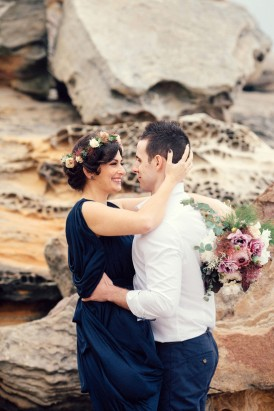 Romantic Clifftop Engagement Photos029
