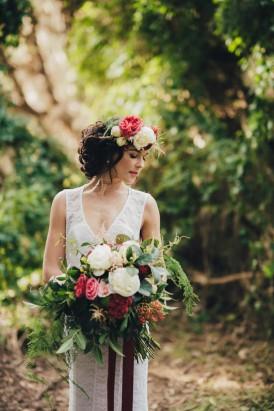 Romantic Forest Wedding Inspiration003
