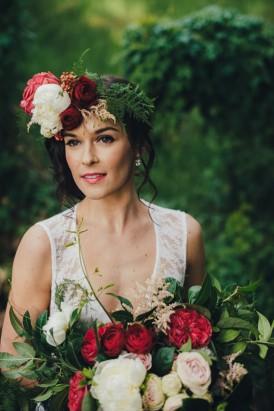 Romantic Forest Wedding Inspiration011
