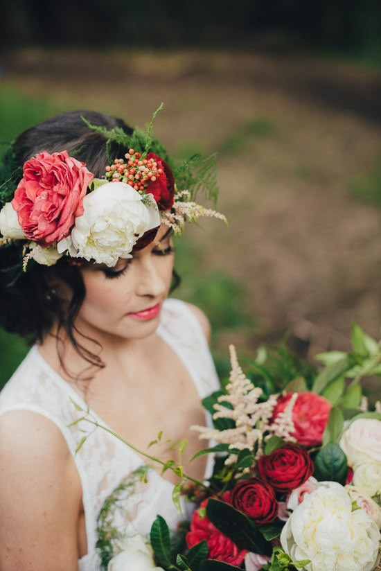 Romantic Forest Wedding Inspiration013