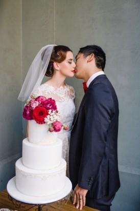 Sweet Vintage Valentines Wedding Inspiration013