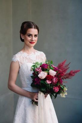 Sweet Vintage Valentines Wedding Inspiration032