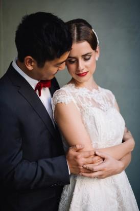 Sweet Vintage Valentines Wedding Inspiration042