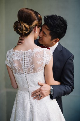 Sweet Vintage Valentines Wedding Inspiration046