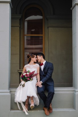 Sweet Vintage Valentines Wedding Inspiration053