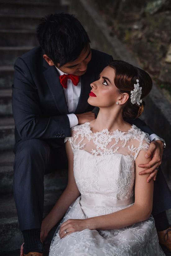 Sweet Vintage Valentines Wedding Inspiration084