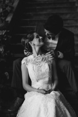 Sweet Vintage Valentines Wedding Inspiration085